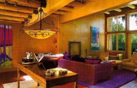 Дом в мексиканском стиле