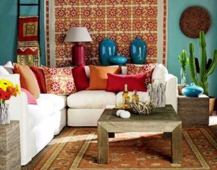 Мексиканский стиль в интерьере: фото