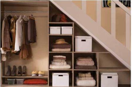 Пространство под лестницей в домеяяя6 фото