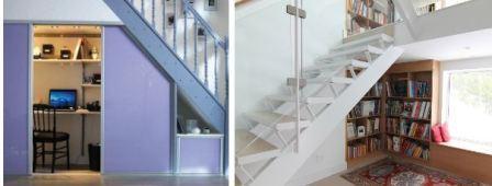 Закрытое пространство под лестницей
