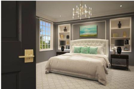 Спальня в стиле арт деко: фото