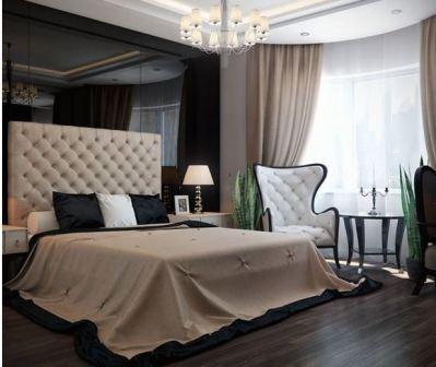 Спальни арт деко: мебель