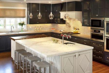 Зонирование кухни: фото
