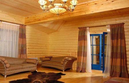 Сосновый блок-хаус