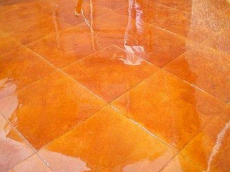 Краска для керамогранита на полу