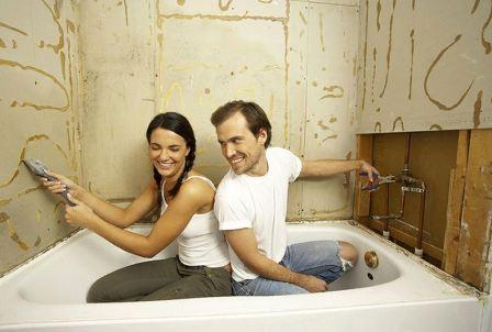 Ремонт ванной комнаты панелями своими руками