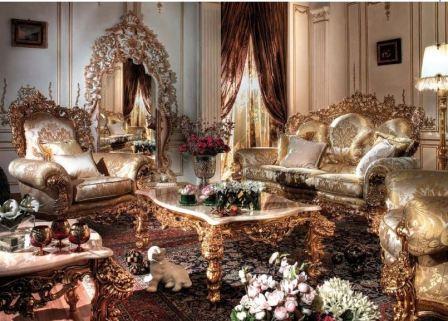Интерьер в стиле барокко: фото