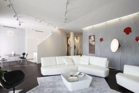 Гостиная минимализм: фото