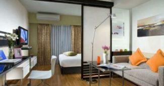 Как организовать спальную зону в однокомнатной квартире