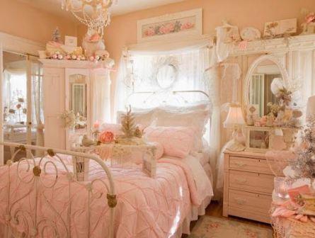 Интерьер спальни в стиле Шебби-шик своими руками