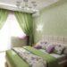 Спальня в зеленом цвете, правила оформления, фото, особенности