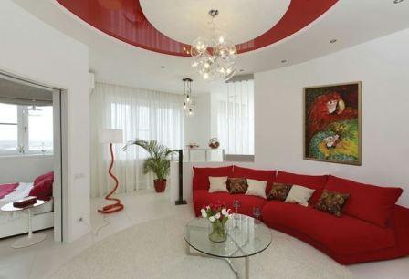 Гостиная в белом цвете, идеи и правила оформления