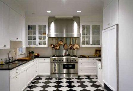 Какое напольное покрытие выбрать для кухни, идеи и варианты