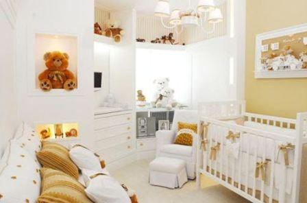 Варианты оформления детской для новорожденного, лучшие идеи