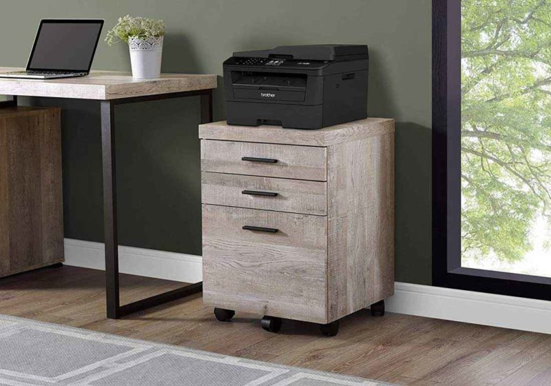 Офисные тумбы для оргтехники – вариации мебели